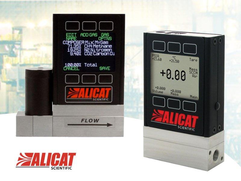 Alicat mass flow meters image banner